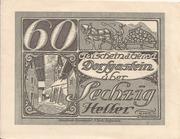 60 Heller (Dorfgastein) – obverse