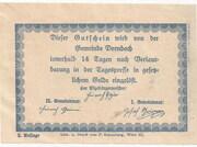 75 Heller (Dornbach) – reverse