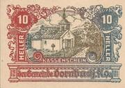10 Heller (Dornbach) -  obverse
