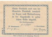 10 Heller (Dornbach) -  reverse