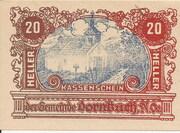 20 Heller (Dornbach) -  obverse