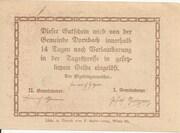 20 Heller (Dornbach) -  reverse