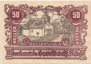 50 Heller (Dornbach) -  obverse