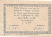 50 Heller (Dornbach) -  reverse