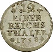 1/12 Reichsthaler – reverse