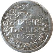 1/16 Thaler - Leopold I – reverse