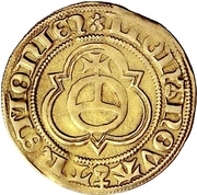 1 Goldgulden - Friedrich III. – reverse