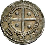 1 Pfennig - Heinrich IV. – reverse