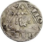 1 Pfennig - Wenzel von Luxemburg – reverse