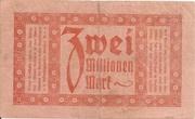 2,000,000 Mark (Reichsbahndirektion) – reverse