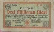 3,000,000 Mark (Reichsbahndirektion) – obverse