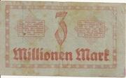 3,000,000 Mark (Reichsbahndirektion) – reverse