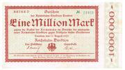 1,000,000 Mark (Reichsbahndirektion) – obverse