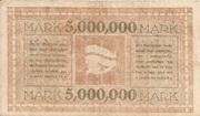 5,000,000 Mark – reverse