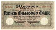 50,000,000 Mark – obverse