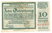 10 Goldpfennig (Handelskammer) – obverse