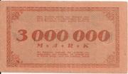 3,000,000 Mark – reverse