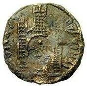 1 Follaro (Autonomous coinage) – reverse
