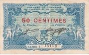 50 centimes - Chambre de Commerce de Valence et de la Drome – obverse