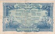 50 centimes - Chambre de Commerce de Valence et de la Drome – reverse