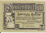 20 Heller (Drosendorf) – reverse