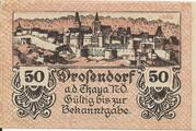 50 Heller (Drosendorf) – obverse