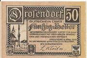 50 Heller (Drosendorf) – reverse