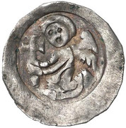 1 Pfennig - Herzog Leopold VI (Enns) – obverse