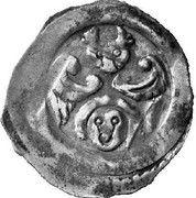 1 Pfennig - Herzog Leopold VI (Vienna) – obverse