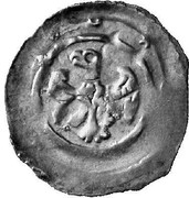 1 Pfennig - Herzog Leopold VI (Vienna) -  reverse