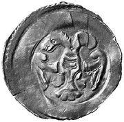 1 Pfennig - Herzog Leopold VI – obverse