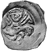1 Pfennig - Herzog Friedrich II (Vienna) – obverse