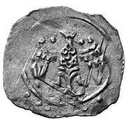 1 Pfennig - Friedrich II (Vienna) -  reverse