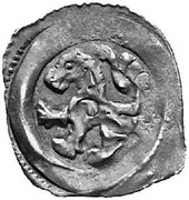 1 Pfennig - Herzog Friedrich II (Wiener Neustadt) – obverse