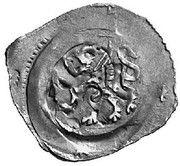 1 Pfennig - Herzog Friedrich II (Wiener Neustadt) – reverse