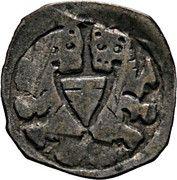 1 Pfennig - Ottokar II of Bohemia -  obverse