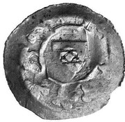 1 Pfennig - Ottokar II of Bohemia -  reverse