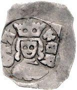 1 Pfennig - Ottokar II of Bohemia (Vienna) -  obverse