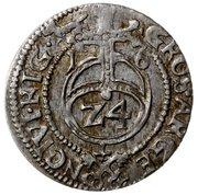 1½ Grossus - Sigismund III Vasa (Riga) – reverse