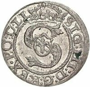 1 Schilling - Sigismund III Vasa (Riga) – obverse