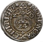 3 Polker - Sigismund III Vasa (Riga) – reverse