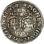 ½ Mark - Jan Chodkiewicz (Dole Castle) – reverse