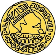 1 Dukat - Sigismund III Vasa (Riga) – obverse