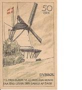 50 Øre (Danish issue) – reverse