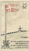 25 Øre (Danish issue) – reverse