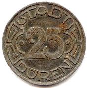25 Pfennig - Düren ('ME' = 1 letter) -  obverse