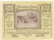 50 Heller ( Dürnstein an der Donau) – obverse