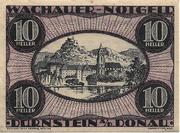 10 Heller (Durnstein an der Donau) -  obverse
