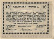 10 Heller (Durnstein an der Donau) -  reverse