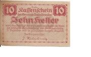 10 Heller (Dunkelstein) -  reverse
